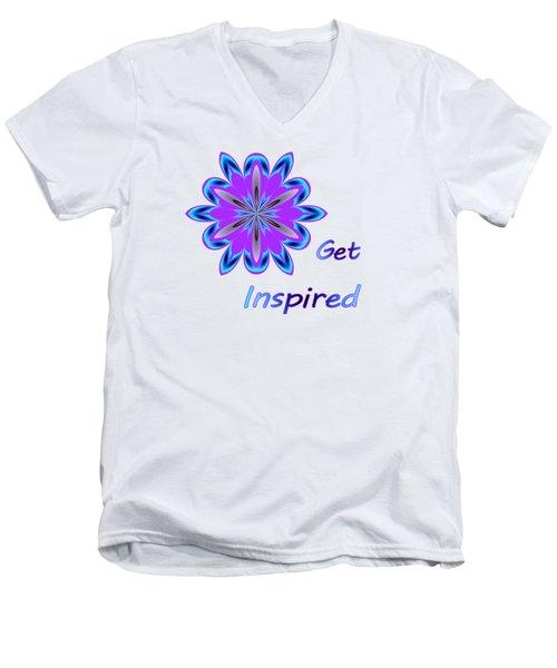 Get Inspired Men's V-Neck T-Shirt