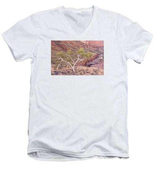 Ghost Gum Men's V-Neck T-Shirt