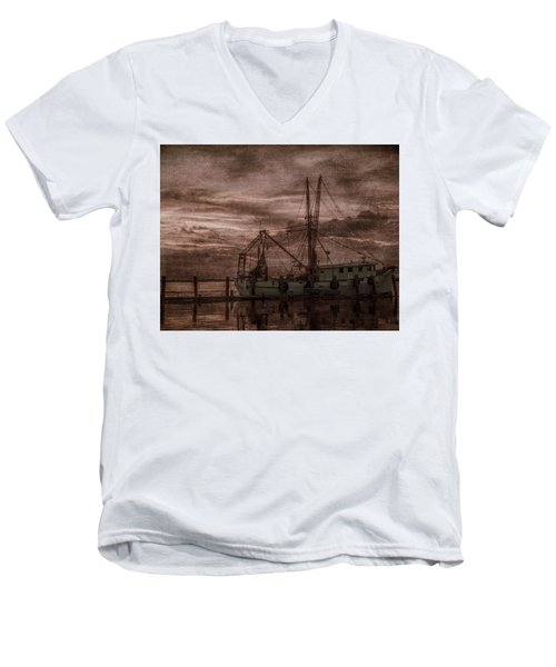 Ghost Ship Men's V-Neck T-Shirt
