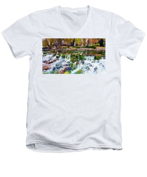 Giant Springs 1 Men's V-Neck T-Shirt