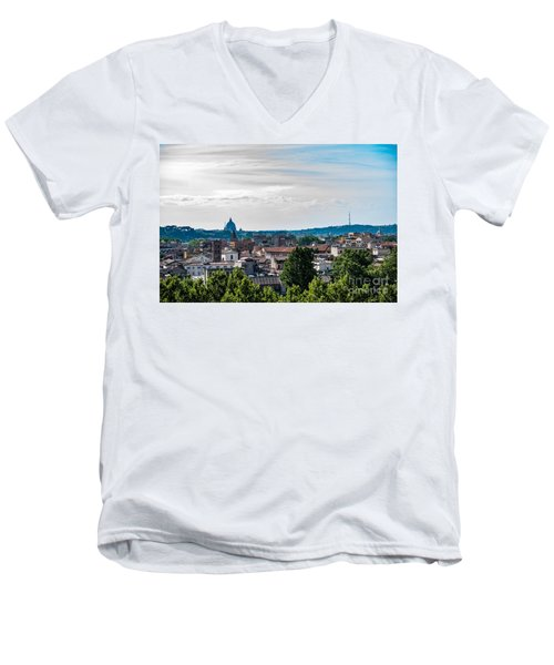 Giardino Degli Aranci Men's V-Neck T-Shirt by Joseph Yarbrough