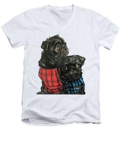 Giles 3540 Men's V-Neck T-Shirt
