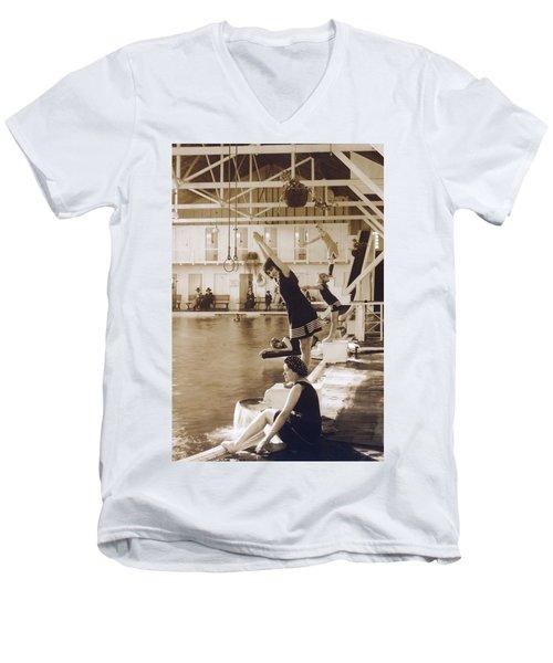 Girls In Plunge Men's V-Neck T-Shirt
