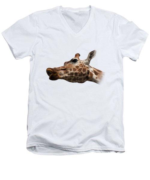 Give Us A Kiss On Transparent Background Men's V-Neck T-Shirt