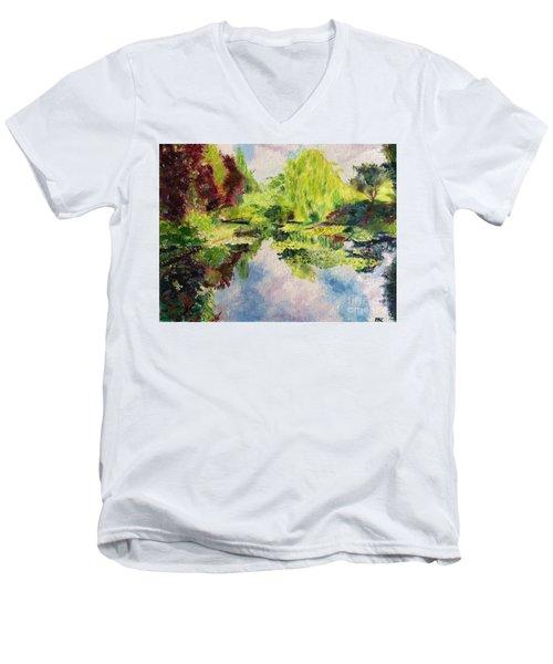 Giverney Men's V-Neck T-Shirt
