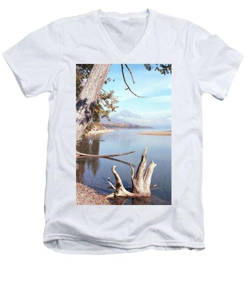 Glacier National Park 3 Men's V-Neck T-Shirt