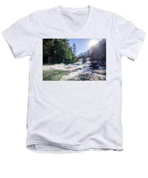 Glacier National Park Beauty Men's V-Neck T-Shirt