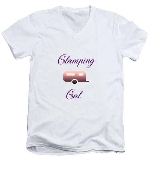 Glamping Gals Men's V-Neck T-Shirt