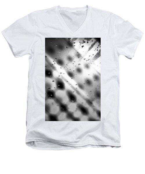Glass Shower Room Door Men's V-Neck T-Shirt