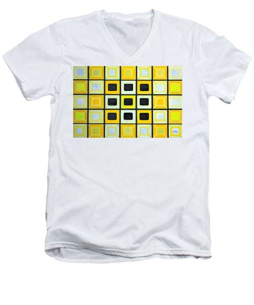 Glass Wall Men's V-Neck T-Shirt
