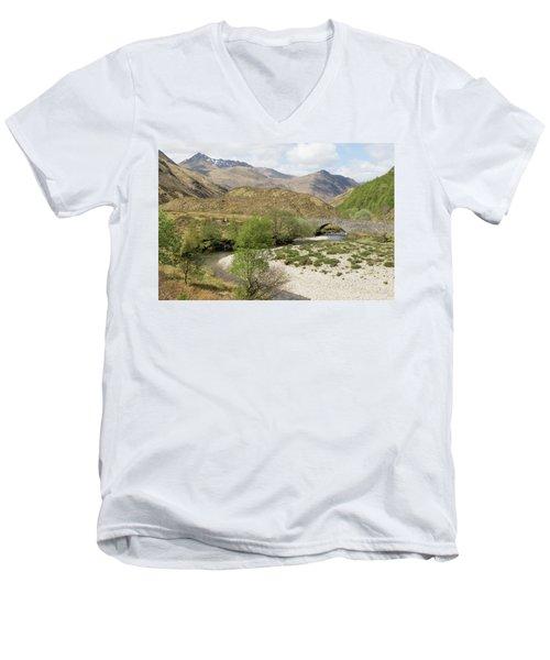 Glen Shiel - Scotland Men's V-Neck T-Shirt