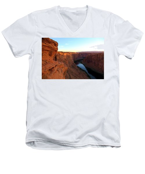 Glenn Canyon Men's V-Neck T-Shirt