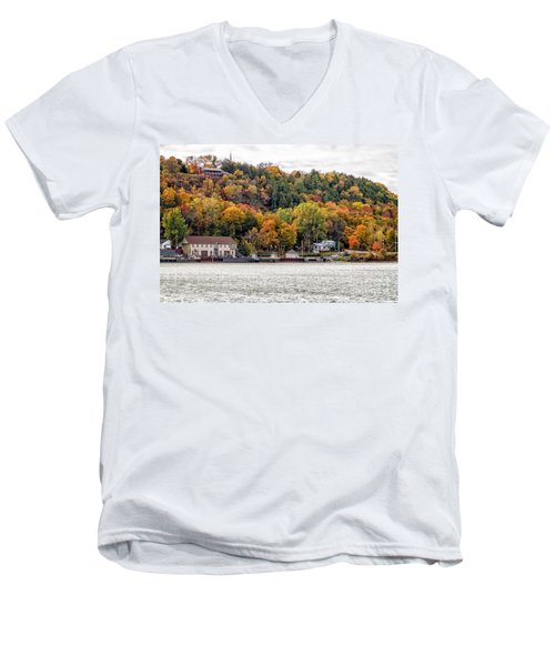 Glenora Ferry Dock Men's V-Neck T-Shirt