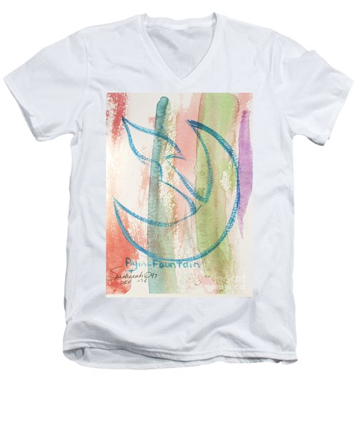 Gliding Ayin Men's V-Neck T-Shirt