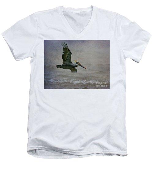 Gliding  Men's V-Neck T-Shirt