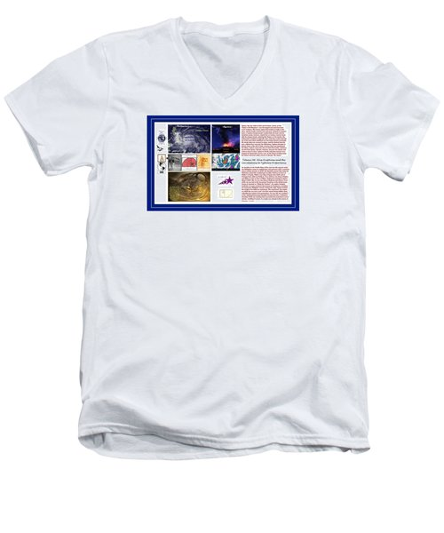 Glimpsing Divinity Men's V-Neck T-Shirt by Peter Hedding