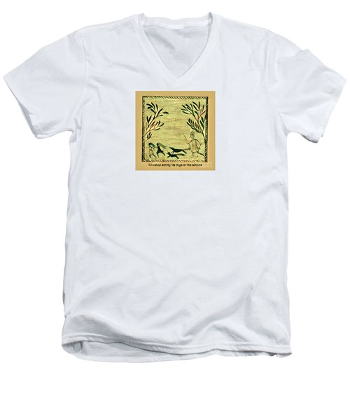 Glooscap And The Witches Men's V-Neck T-Shirt