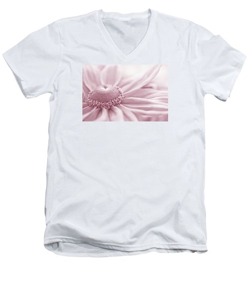 Gloriosa Daisy In Pink  Men's V-Neck T-Shirt by Sandra Foster