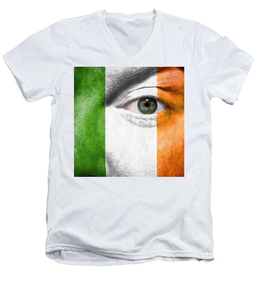Go Ireland Men's V-Neck T-Shirt