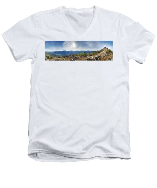 Goat Peak Men's V-Neck T-Shirt