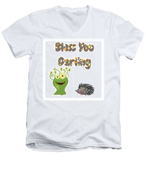 God Bless The Child Men's V-Neck T-Shirt