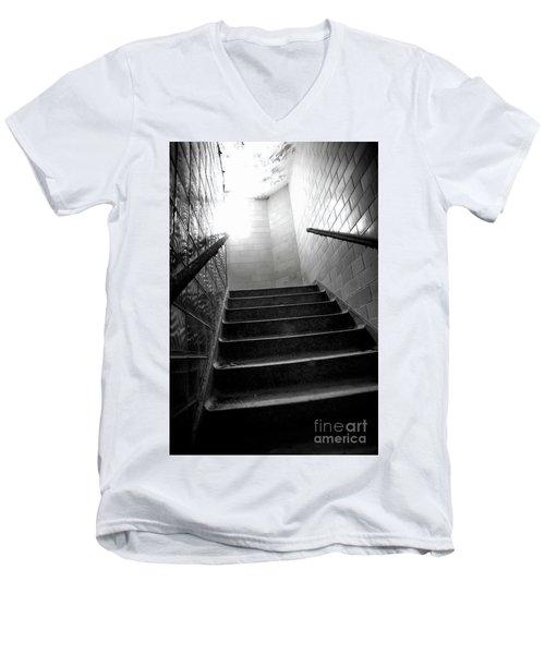 Going Up? Men's V-Neck T-Shirt