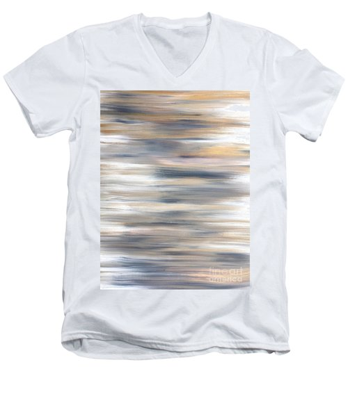 Gold Coast #21 Landscape Original Fine Art Acrylic On Canvas Men's V-Neck T-Shirt