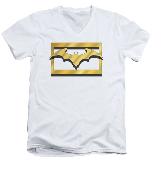 Golden Bat Men's V-Neck T-Shirt