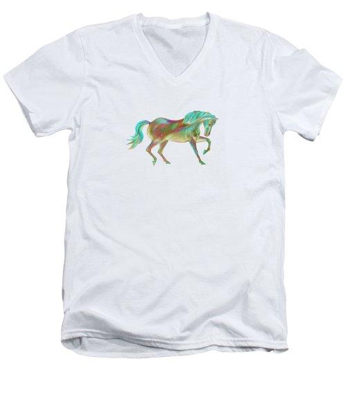 Golden Green Men's V-Neck T-Shirt