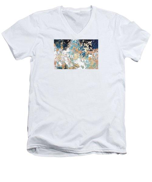 Golden Rain Men's V-Neck T-Shirt