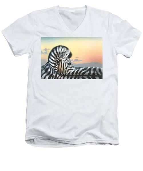 Golden Sky Men's V-Neck T-Shirt