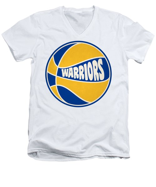 Golden State Warriors Retro Shirt Men's V-Neck T-Shirt