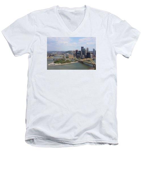 Golden Triangle Men's V-Neck T-Shirt