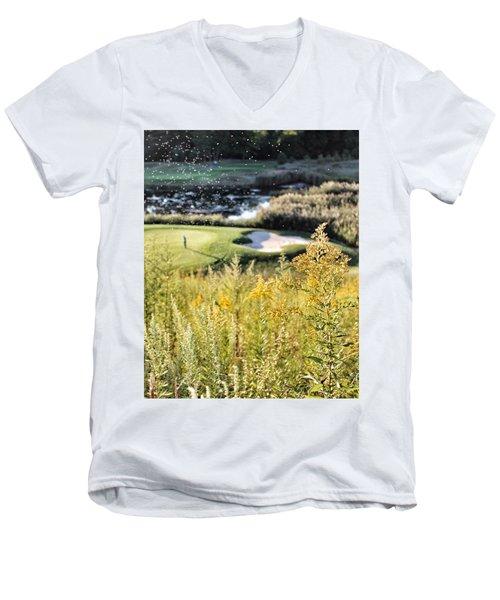 Golf - Green Peace Men's V-Neck T-Shirt