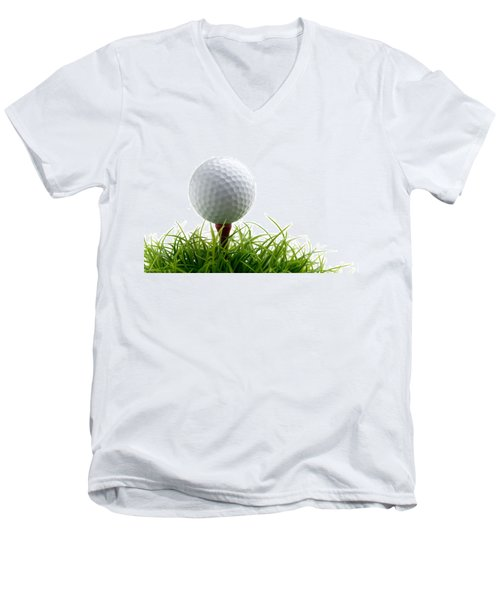 Golfball Men's V-Neck T-Shirt