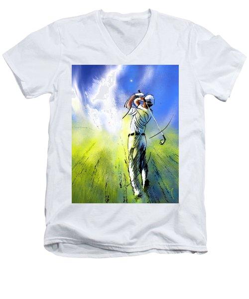 Golfscape 01 Men's V-Neck T-Shirt