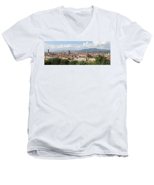 Goodbye To Florence Men's V-Neck T-Shirt