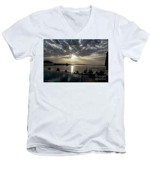 Good Morning Vacation Men's V-Neck T-Shirt