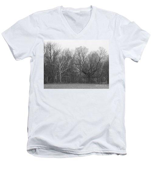 Good Vs Evil Trees Men's V-Neck T-Shirt