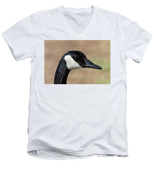 Goose Eye Men's V-Neck T-Shirt