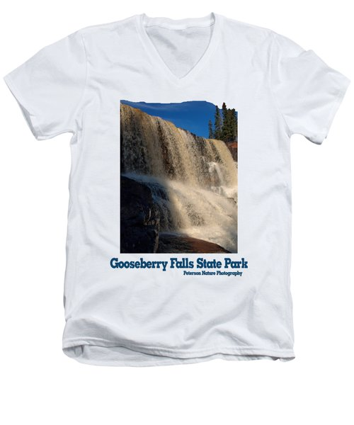 Gooseberry Falls Men's V-Neck T-Shirt