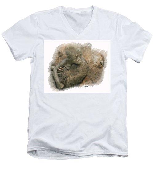 Mother's Milk Men's V-Neck T-Shirt