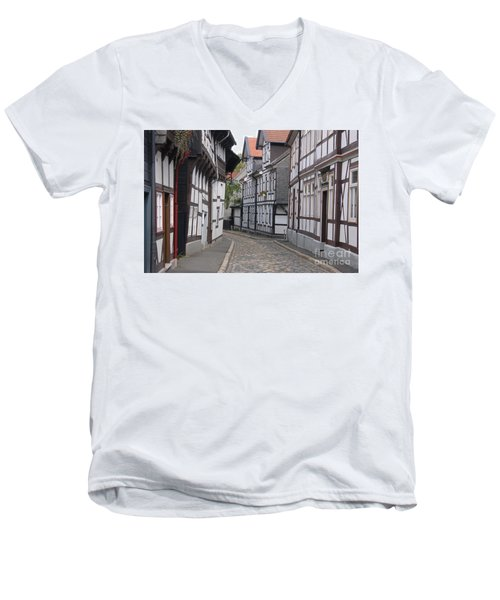 Goslar Old Town 3 Men's V-Neck T-Shirt