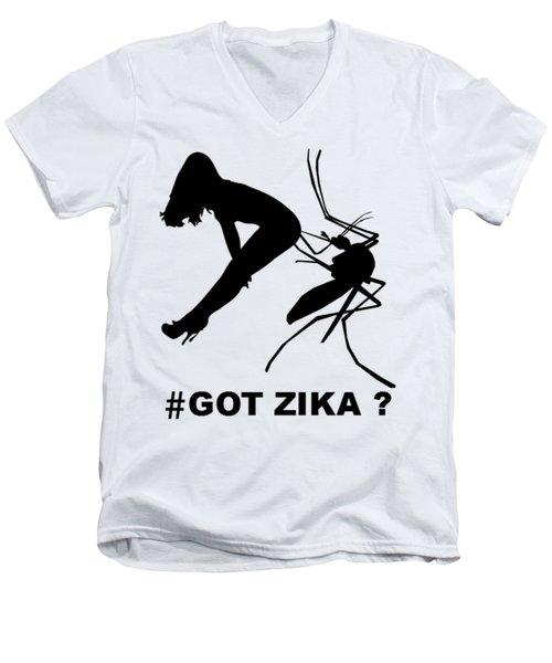 Got Zika? Men's V-Neck T-Shirt