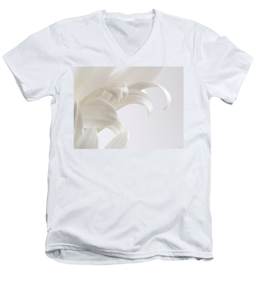 Grace Men's V-Neck T-Shirt by Lauren Radke