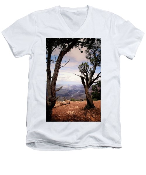Grand Canyon, Az Men's V-Neck T-Shirt