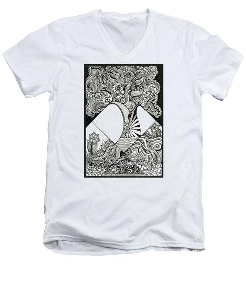 Grandiose Men's V-Neck T-Shirt