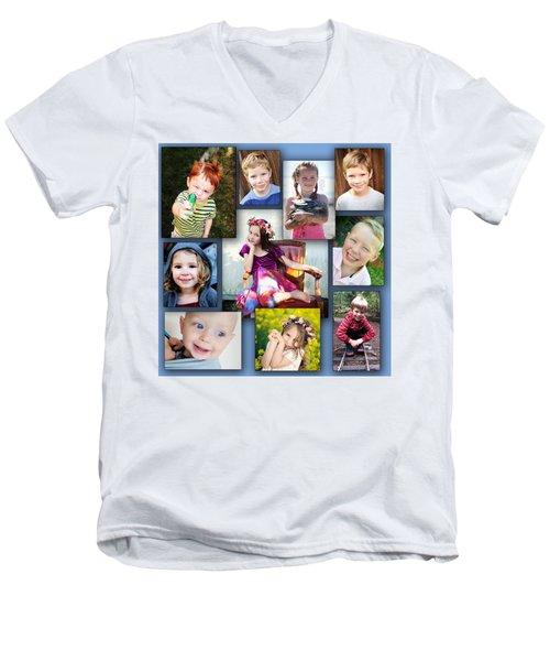 Grandkidz Men's V-Neck T-Shirt