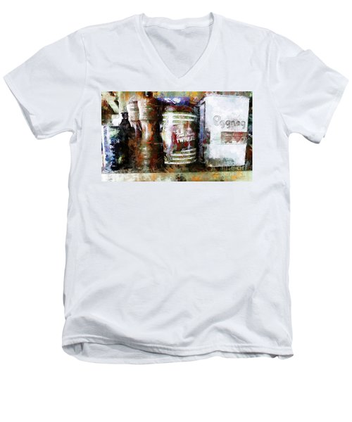 Grandma's Kitchen Tins Men's V-Neck T-Shirt