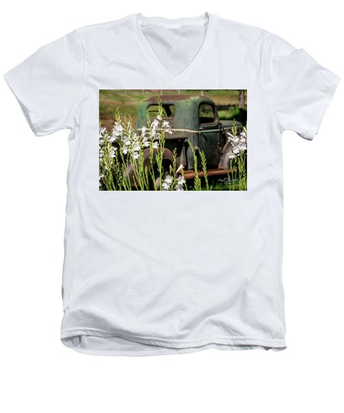 Grandpa's Truck Men's V-Neck T-Shirt